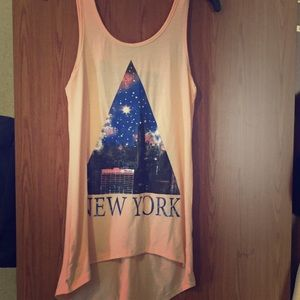 Long New York Tank Top